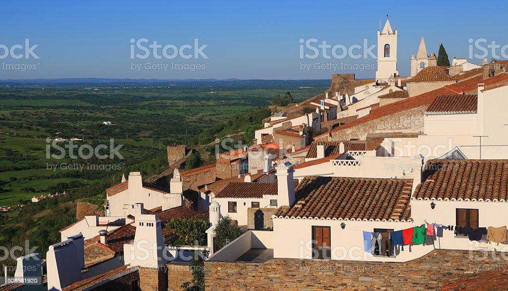 Portugal, Alentejo, Monsaraz historical village. stock photo