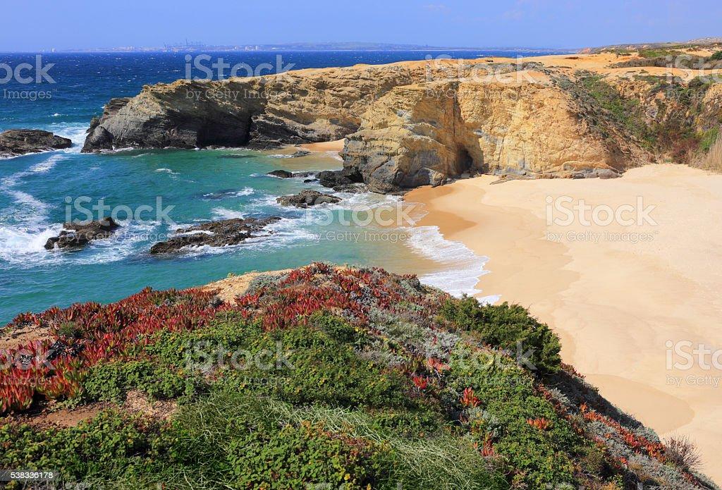 Portugal, Alentejo, Sines. Porto Covo auf Der portugiesischen Atlantik Westen coast. – Foto