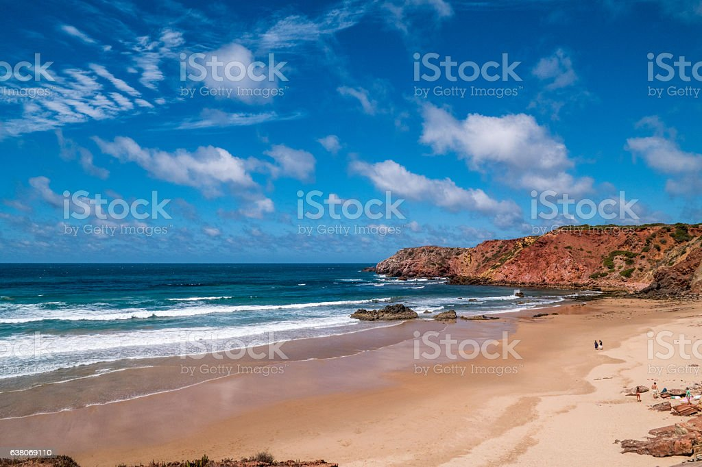 Portugal - Cliffs, ocean and beach – Foto