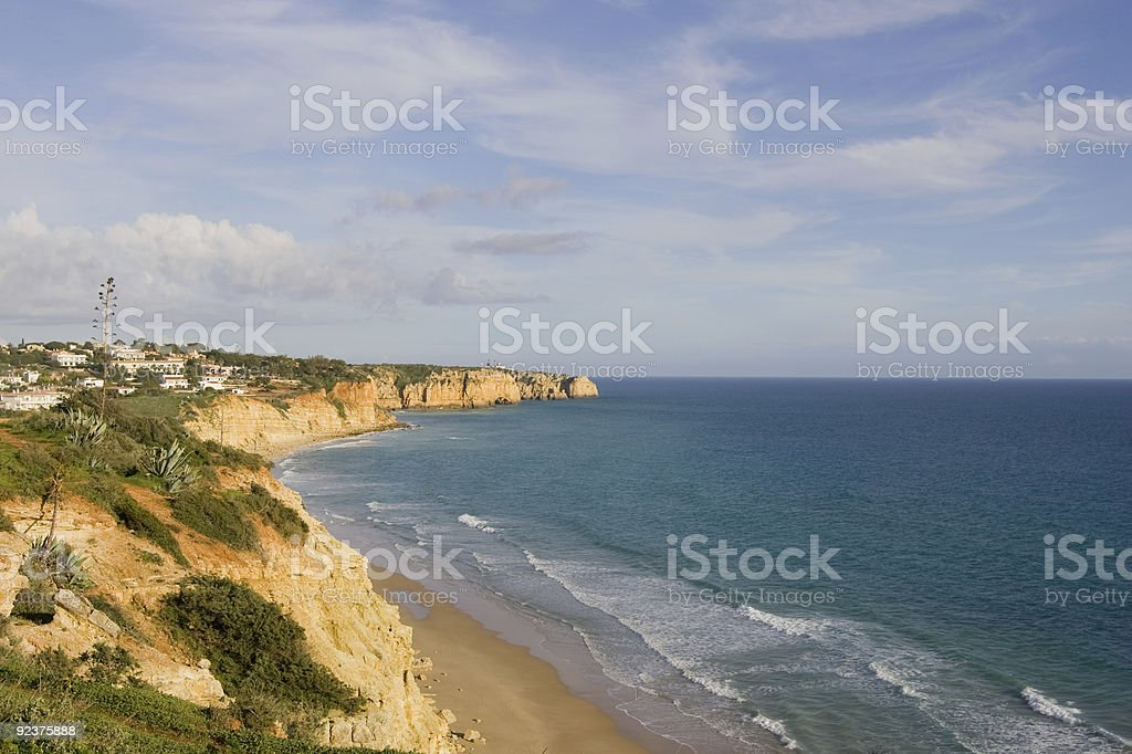 Portugal Coastline royalty-free stock photo