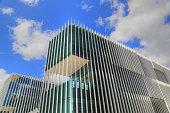 LISBON, PORTUGAL – OCTOBER, 2017: EDP, Portugal Energy Building