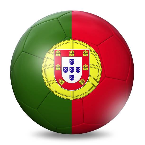 portugal flagga fotboll fotboll - football portugal flag bildbanksfoton och bilder