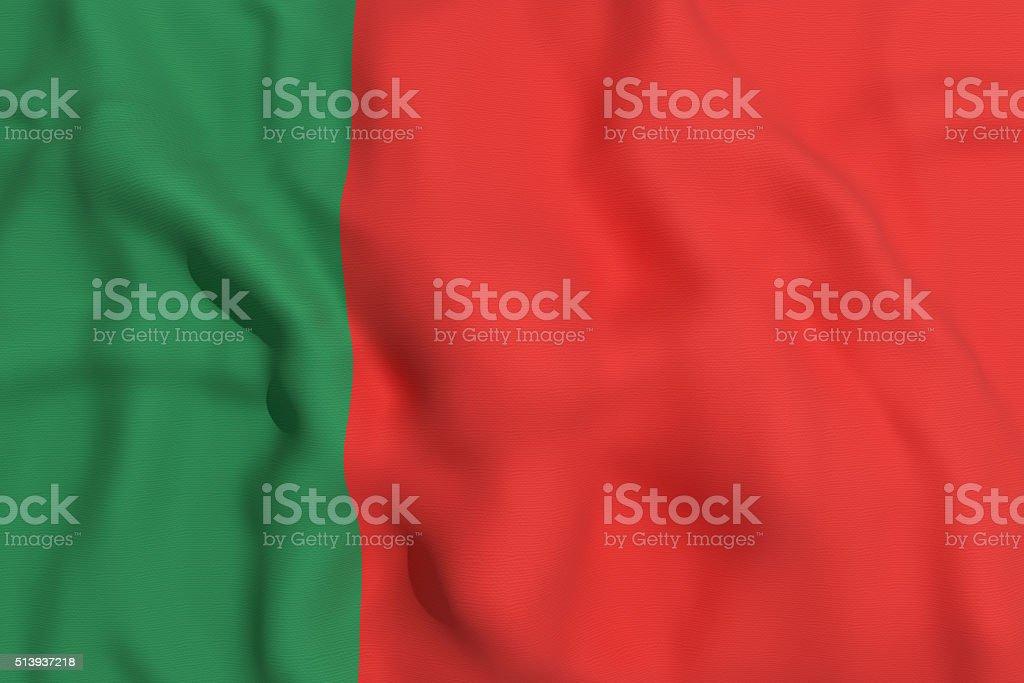 Bandera portuguesa - foto de stock