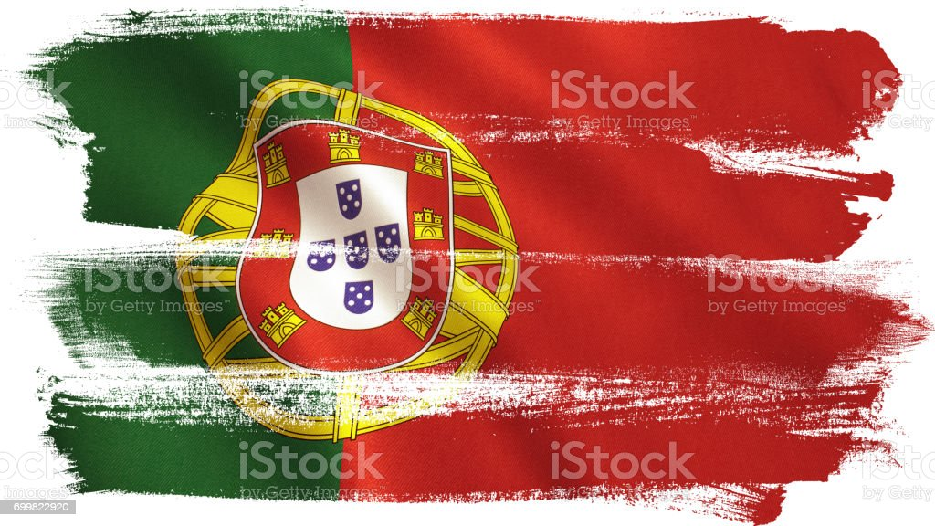 Portugal Flag - fotografia de stock