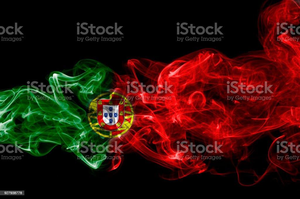 Fumaça do pavilhão de Portugal - foto de acervo
