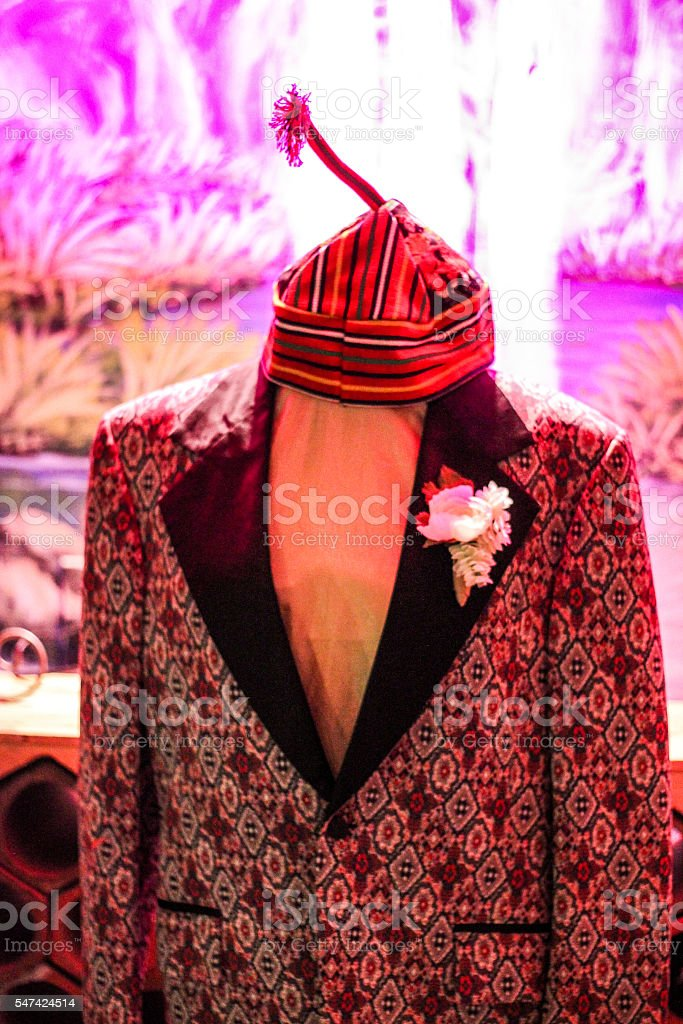Portugal Hat and Blazer stock photo