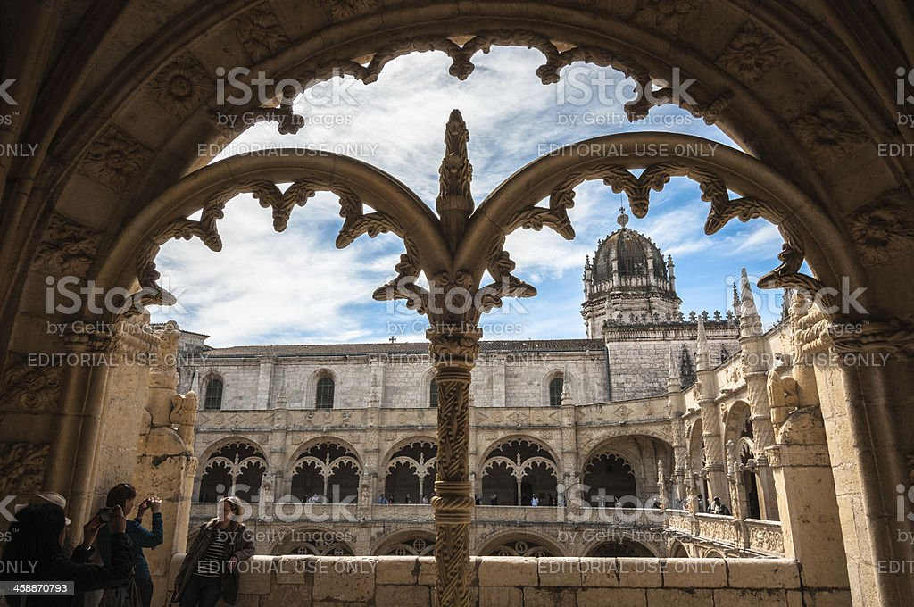 Portugal, Jeronimos Monastery at Belem in Lisbon royalty-free stock photo