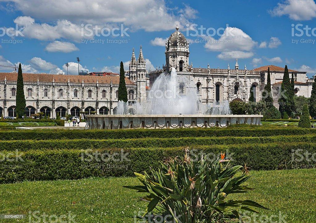 Portugal, Lisbon. Jeronimos Monastery stock photo