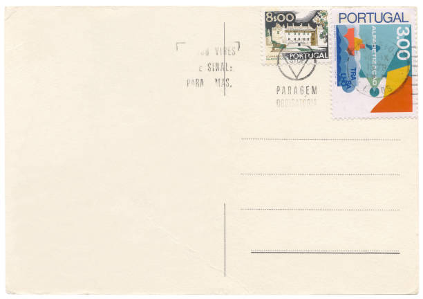 Portugal postcard stock photo