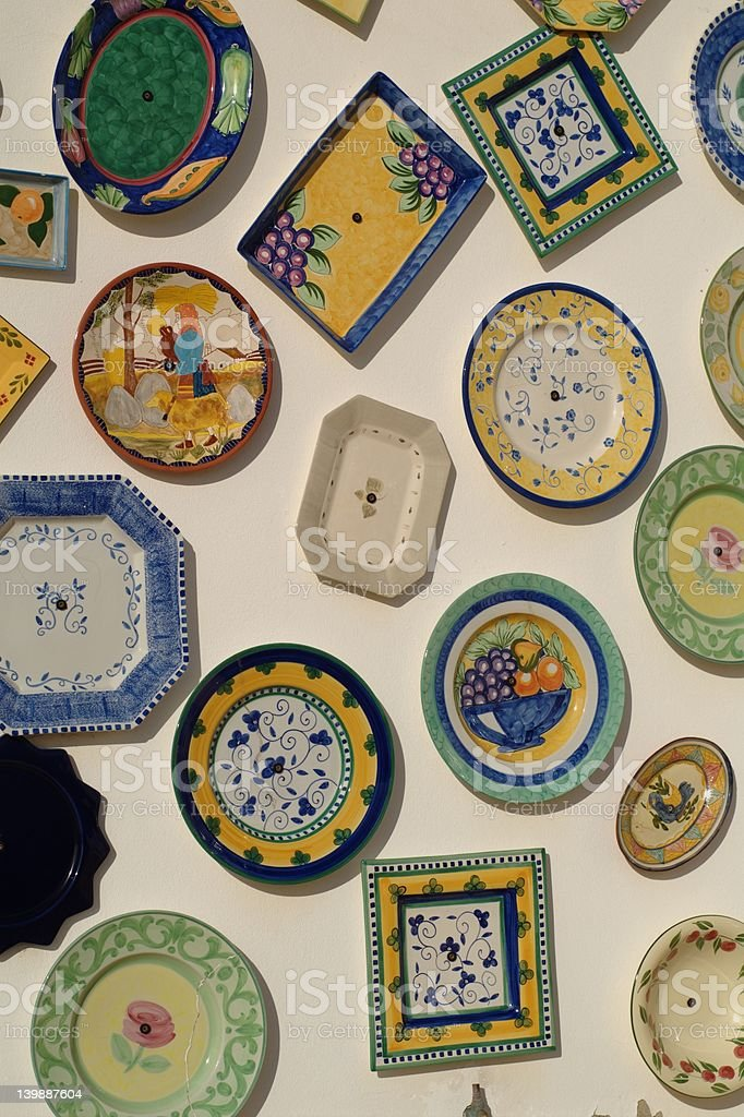 Portugal pottery royalty-free stock photo