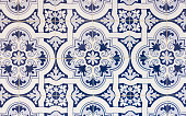 portugal tiles closeup