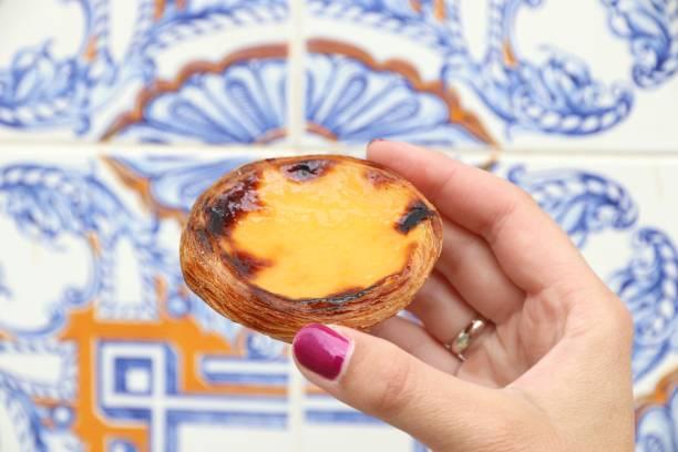 Portugiesisch-Ei-Torte – Foto