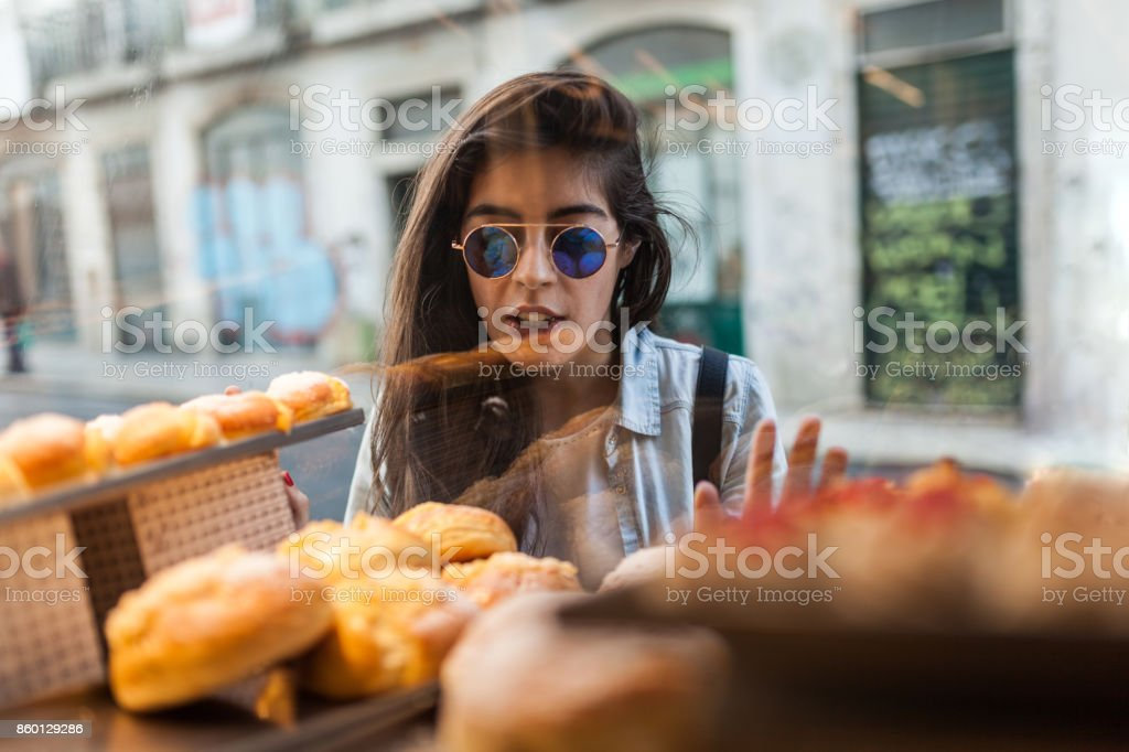 Portugese Sweet Pastry stock photo