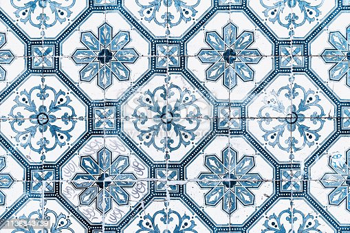 Portuguese Azulejos on building walls