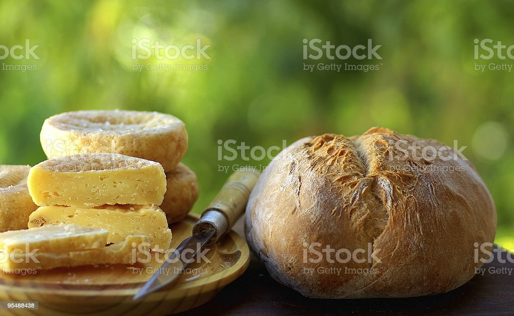Portuguese cheese royalty-free stock photo