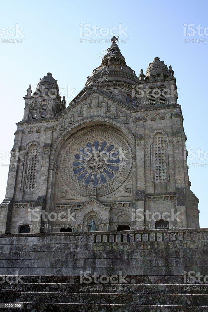 Portuguese church royalty-free stock photo