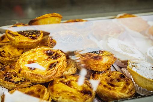 """Portuguese Custard Tarts, called """"Pastel de Nata or de Belem"""""""