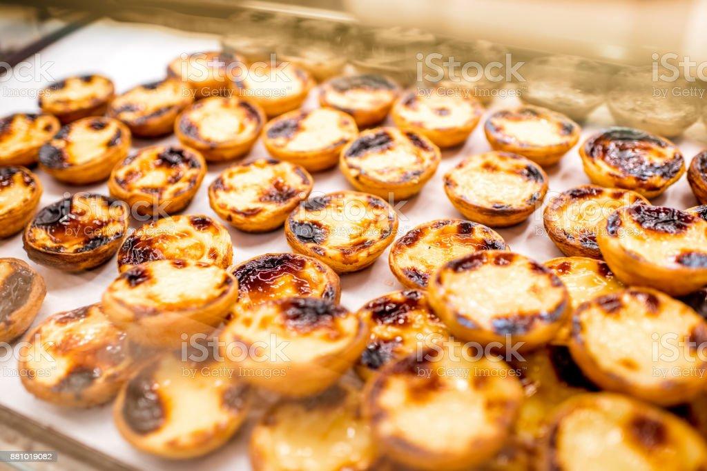 Portugiesische Dessert Pastel de Nata – Foto