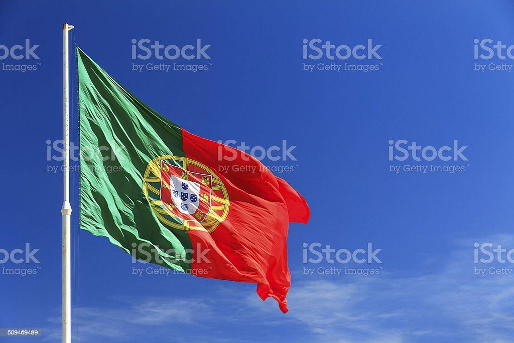 Bandeira de Portugal - fotografia de stock