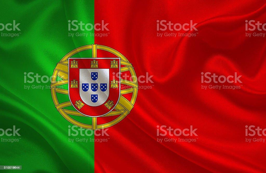 Bandeira Portuguesa - foto de acervo