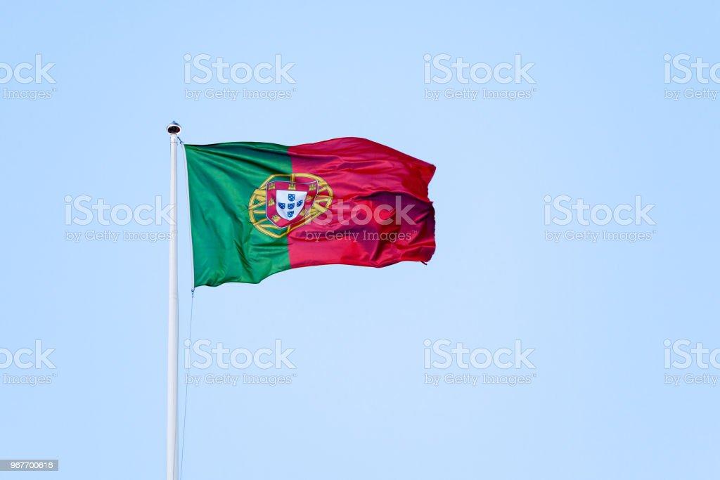 Portuguese Flag - fotografia de stock