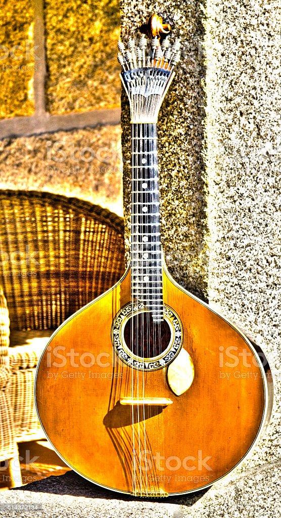 Portuguese Guitar stock photo
