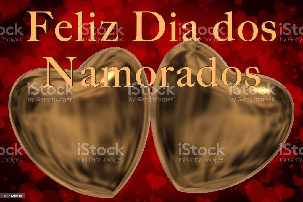 Frase Del Día De Portugués Feliz San Valentín Feliz Dia Dos