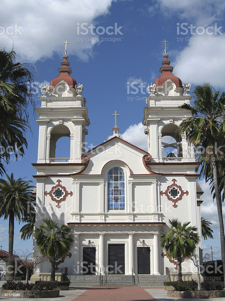 Portuguese National Church of Five Wounds royalty-free stock photo