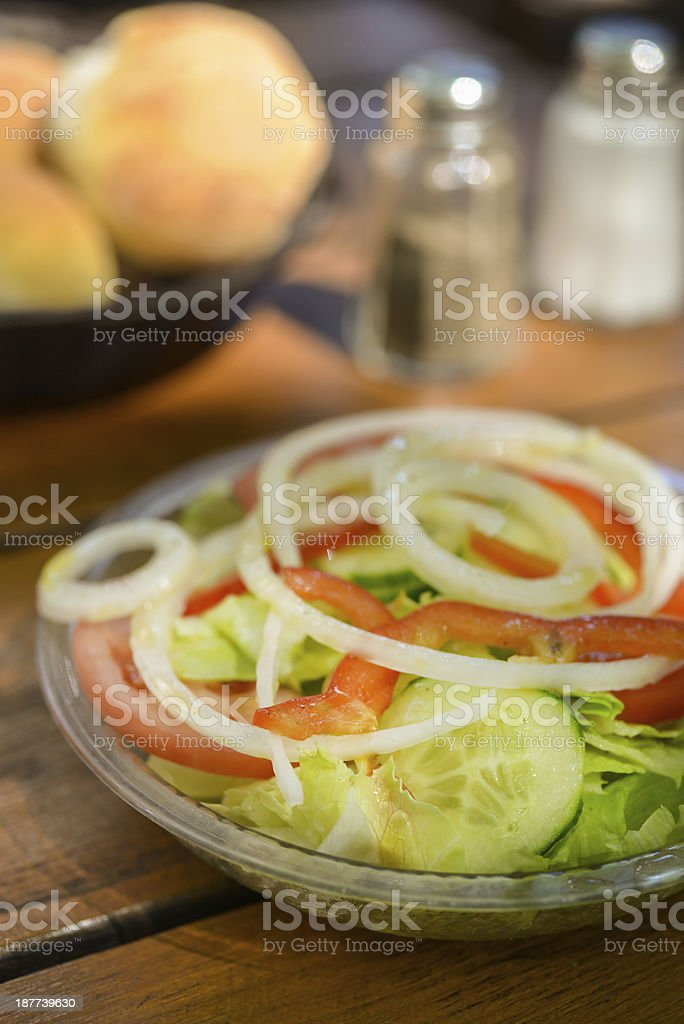 Portuguese Salad royalty-free stock photo