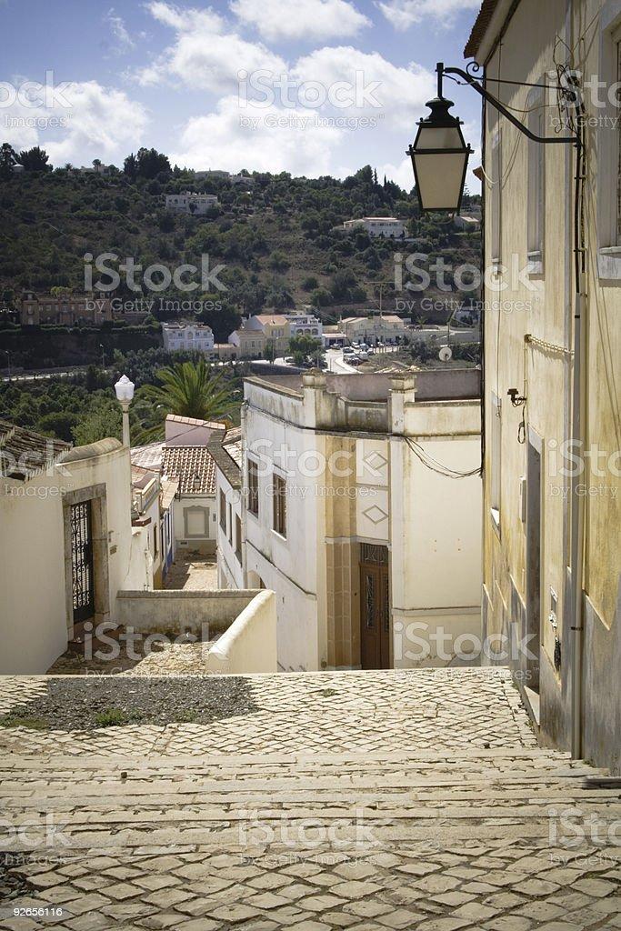 Portuguese street royalty-free stock photo
