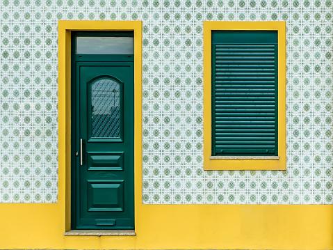 Portuguese tile house - azulejo - 2