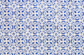 Portuguese tile house wall