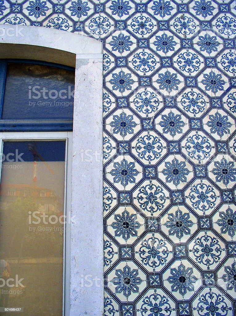 Portuguese tiles royalty-free stock photo
