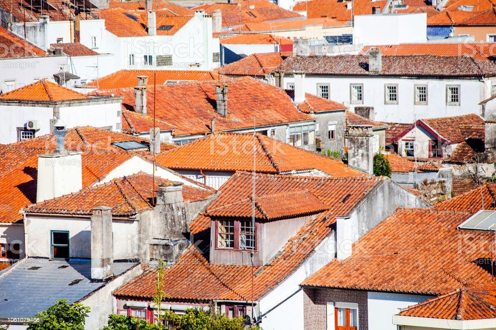 Portuguese town - Viana do Castelo stock photo