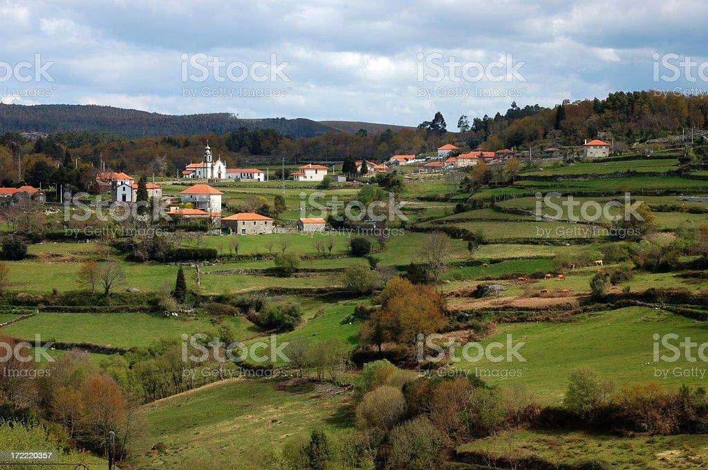 Portuguese Village royalty-free stock photo