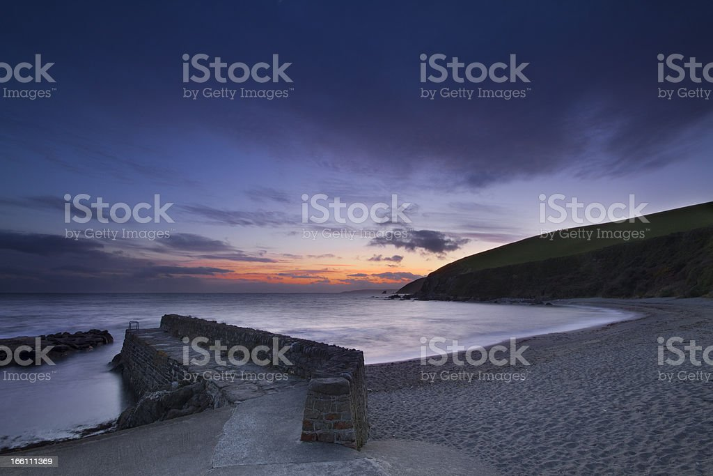 Portwrinkle at Dusk royalty-free stock photo
