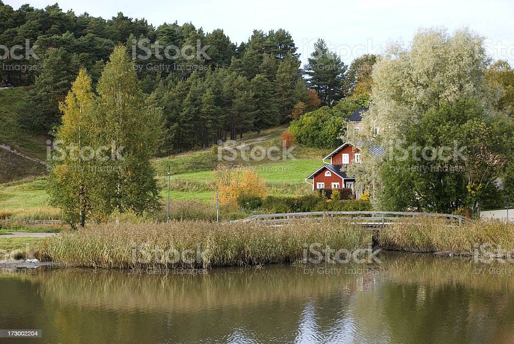 Porvoo royalty-free stock photo