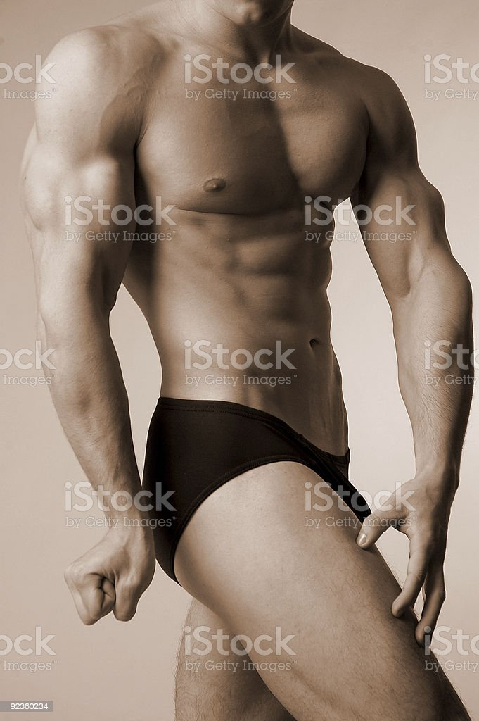 posedown stock photo