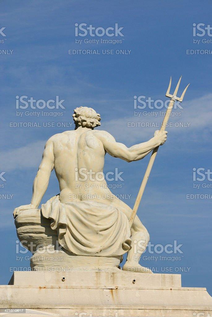 Poseidon royalty-free stock photo