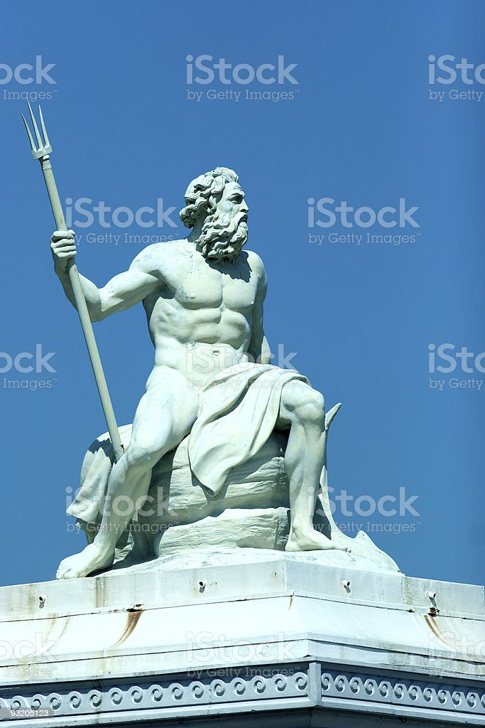 Poseidon stock photo