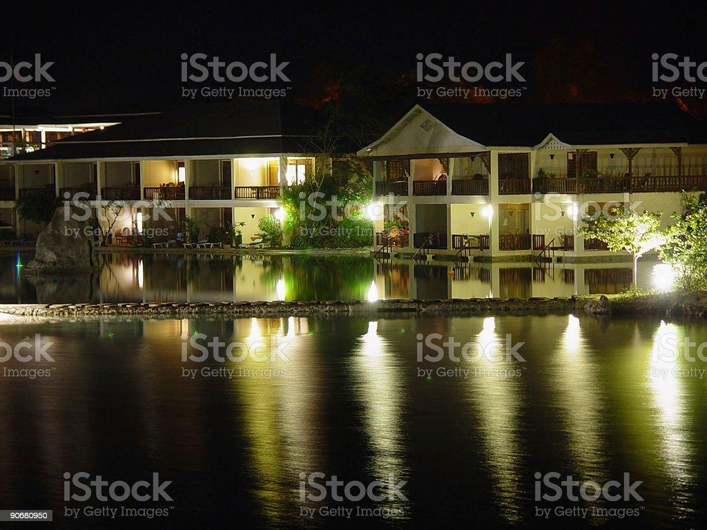 Posh Beach Resort stock photo