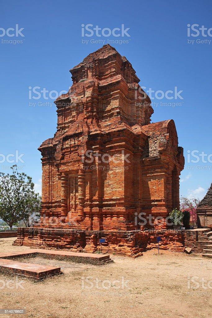 Poshanu Cham Tower in Phan Thiet. Vietnam stock photo
