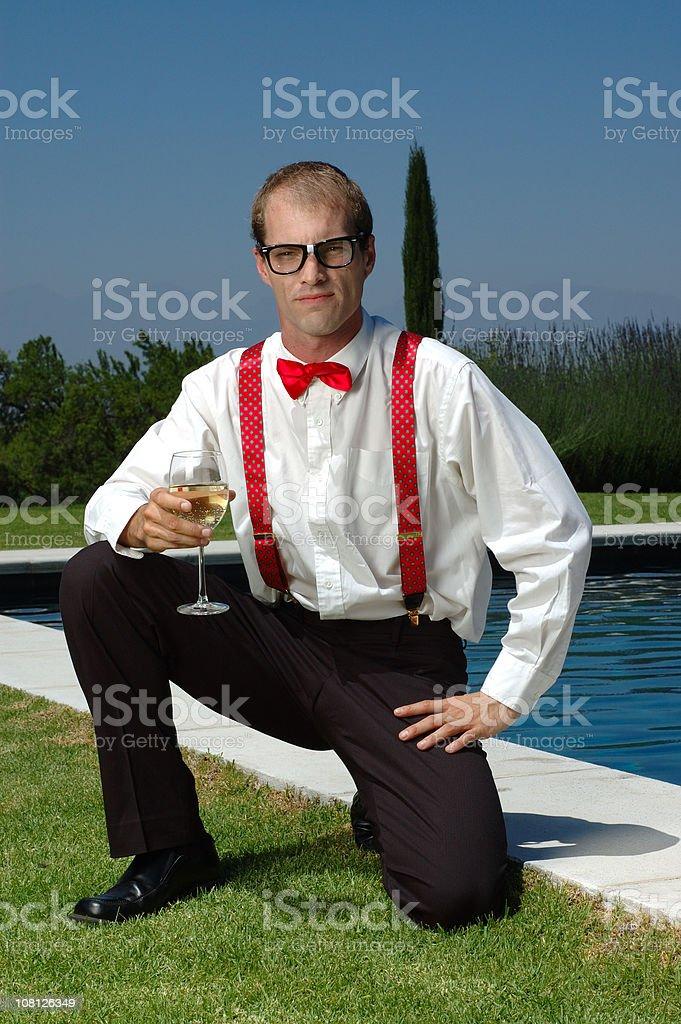Posing royalty-free stock photo