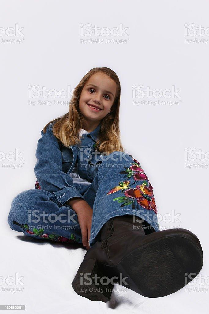 Posing stock photo