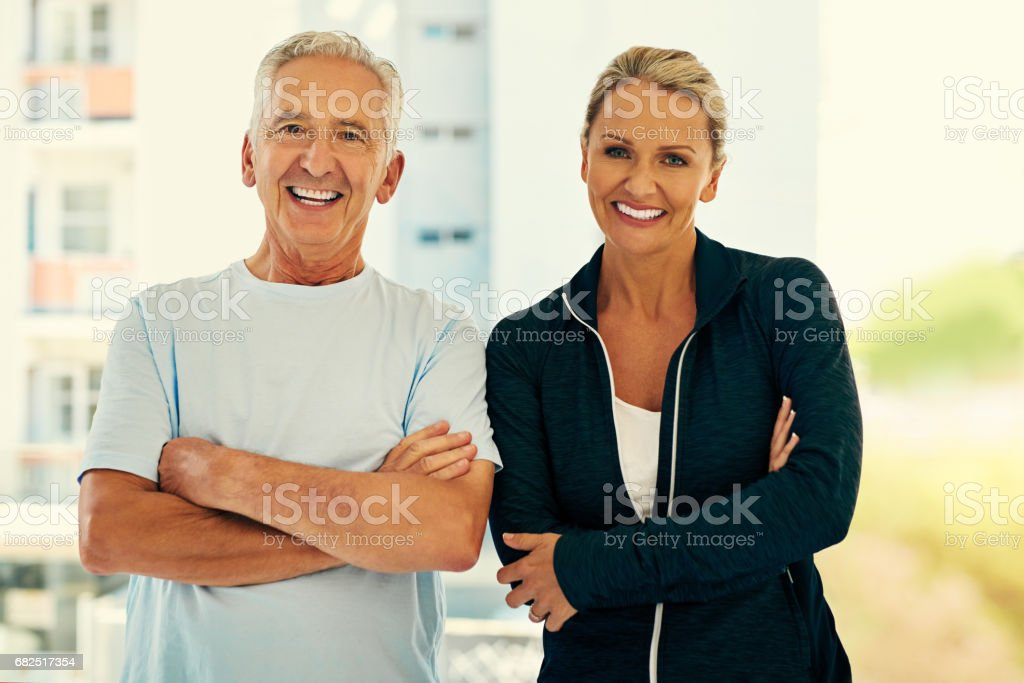 Posing with her favorite patient royalty-free stock photo