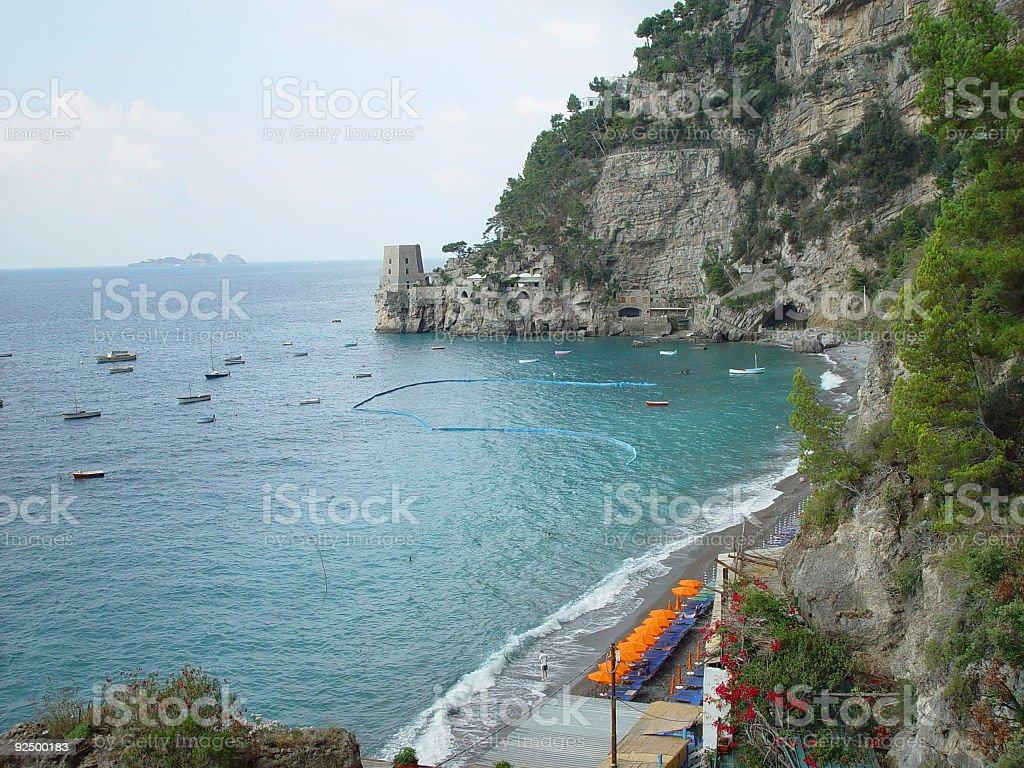 Positano Coast royalty-free stock photo
