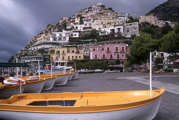 Positano, Italy. stock photo