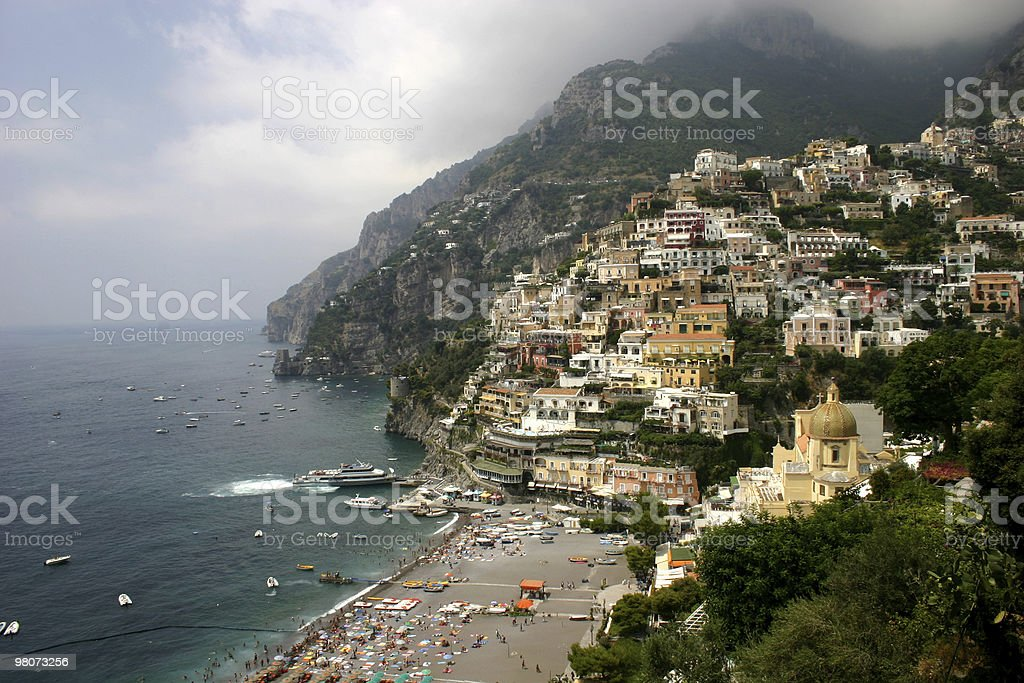 Positano, Italy royalty-free stock photo