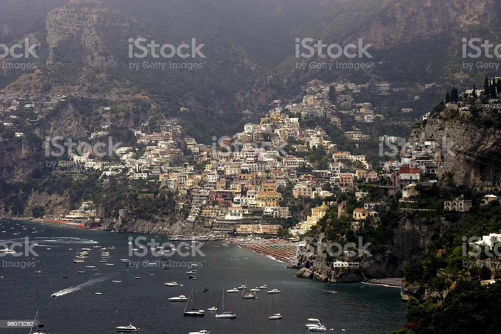 Positano, Italia foto stock royalty-free