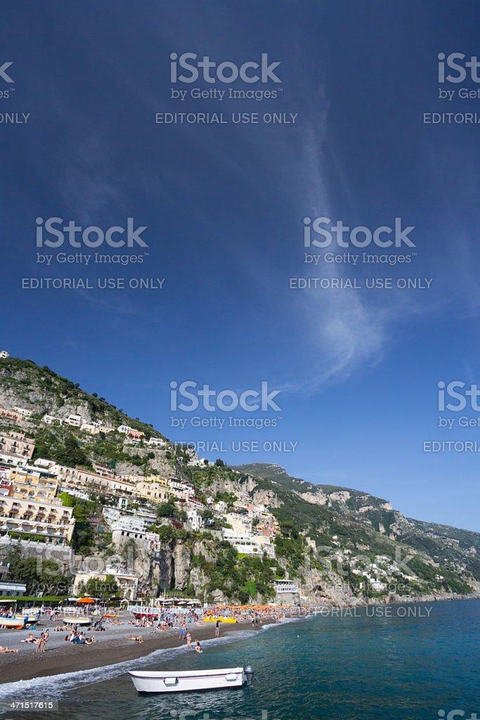 Positano on the Amalfi Coast, Italy royalty-free stock photo